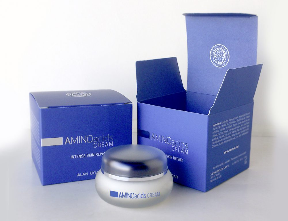 Caja Aminoacids cream de Laboratorios Alan Coar