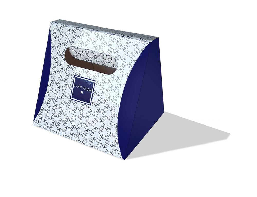 Packaging caja Alan Coar