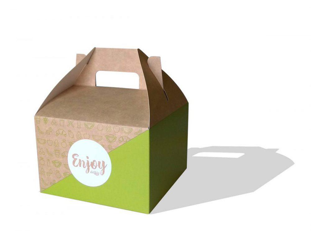 Packaging caja Delikia Enjoy