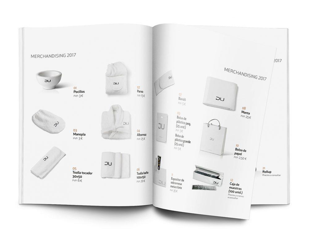 Catálogo Merchandising DU